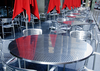 Delray Beach, FL Stainless Steel Table