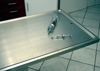 West Palm Beach, FL Stainless Steel Table