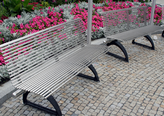 Key Biscane, FL Stainless Steel Benches