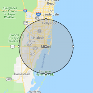 Miami FL Location