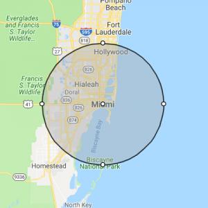 Miami FL Location